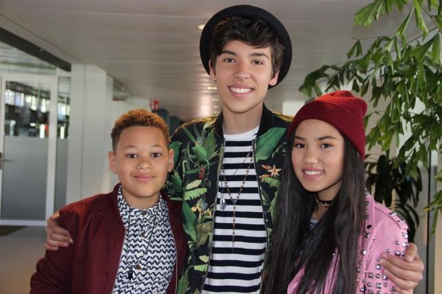 Daniël met Eliyha en Katrina